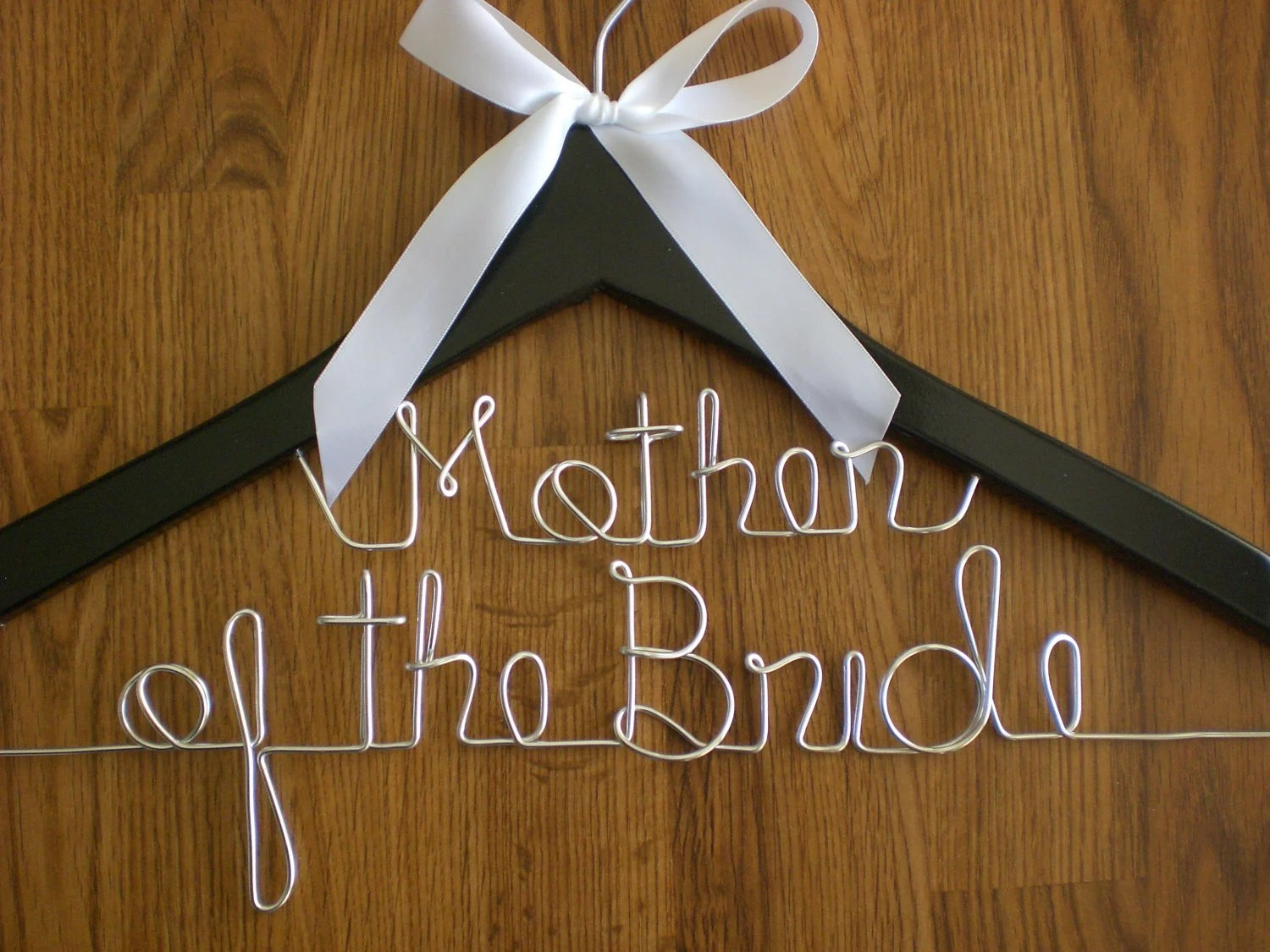 personalized wedding hangers wedding hangers Custom Bridal Hangers Zoom