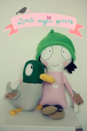 Luxury Sarah & Duck Rag Dolls