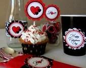 Valentine's Day Cupcake Picks