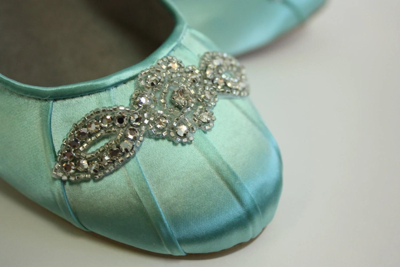 wedding slippers wedding slippers Wedding Shoes Ballet Flats Wedding Shoe Flats Aqua Blue Wedding Shoe Blue Flats Blue Ballet Slipper Aqua Wedding Wedding Flats