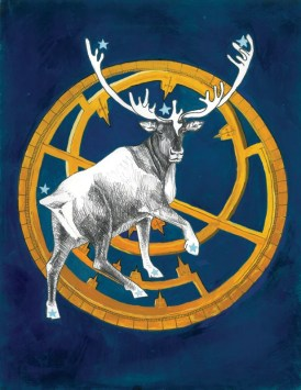 Caribou - Animal Messengers - Small Print