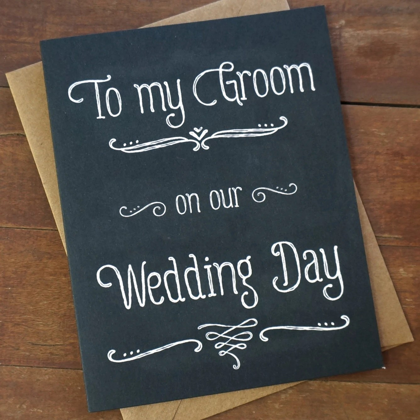 groom gift from bride to groom card to wedding gift for groom zoom