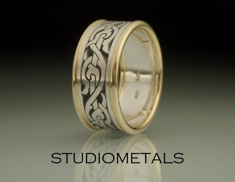 mens wedding band nordic ring viking viking wedding bands zoom