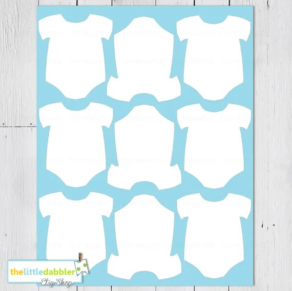 baby one piece templates thelittledabbler