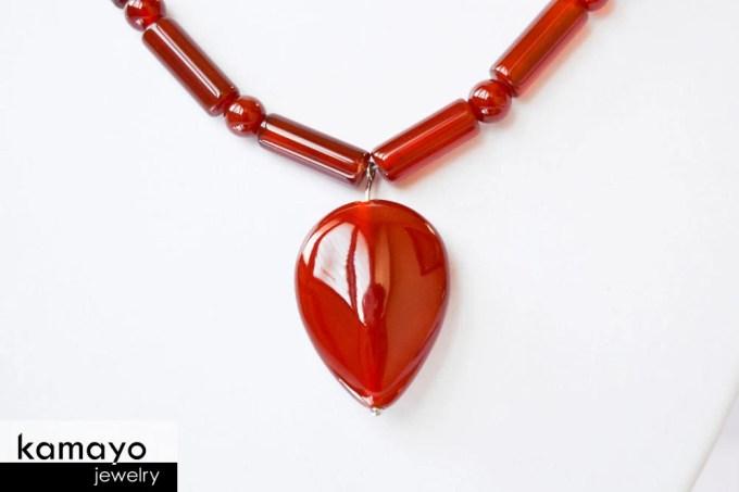 Carnelian Necklace - Toot...