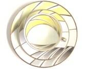 Soft spring sunshine: Vintage Porcelain Tea Trio by Winterling Marktleuthen, Bavaria