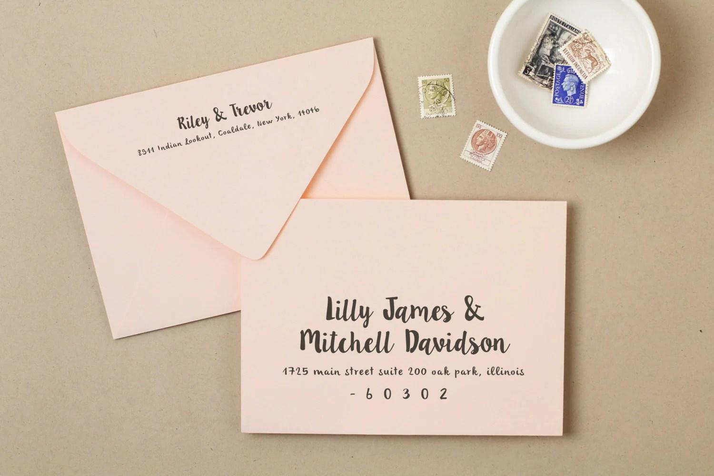 Fullsize Of Wedding Invitation Envelopes