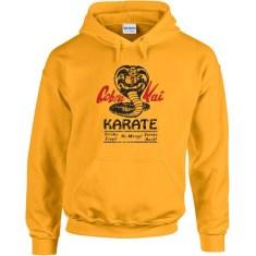 Cobra Kai funny 80s karate dojo kid movie costume retro hip cool no mercy new - Hoodie - sweatshirt apparel clothing - IIT147