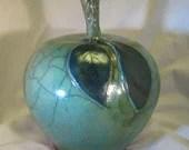 Green Ceramic Apple...