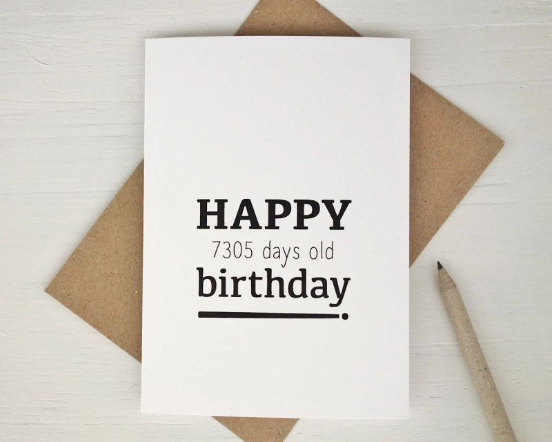 Large Of 20th Birthday Ideas