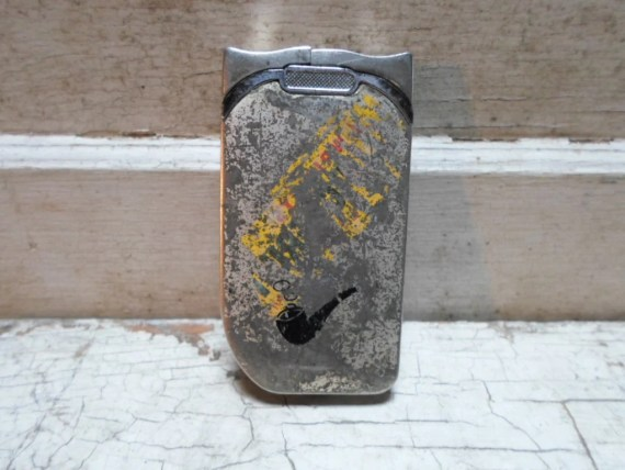 Vintage Lighter with pipe for men