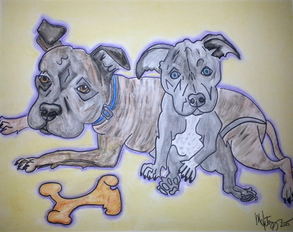 Pet Portrait, Custom Dog ...