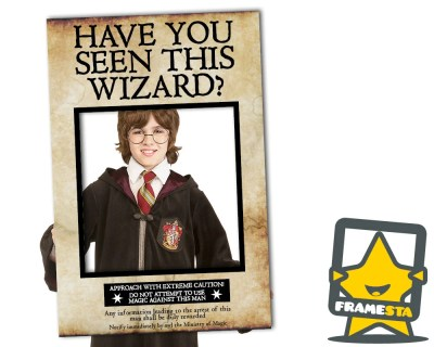 Have You Seen This Wizard Photo Booth Prop Instant by Framesta