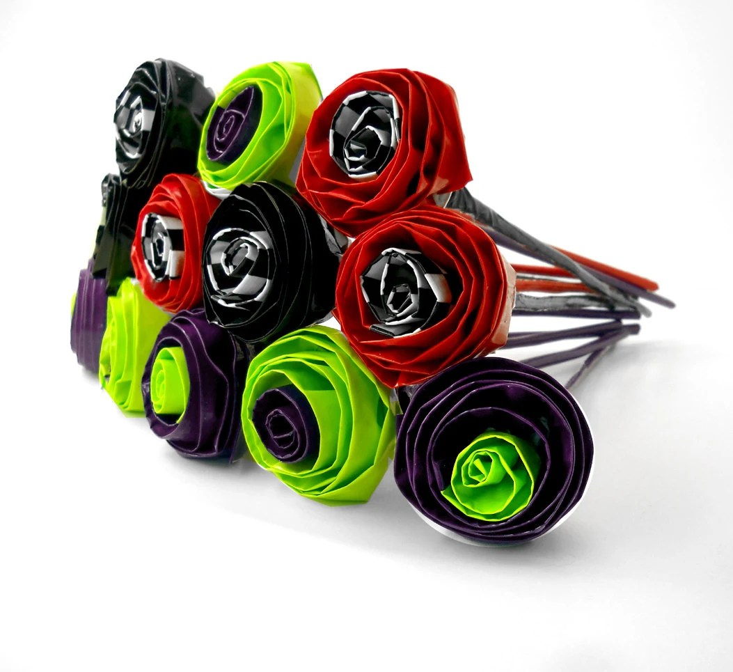 harley quinn roses harley quinn wedding ring One Dozen Joker Harley Quinn Roses Wedding bouquet Harley Quinn Wedding Roses Flowers Decorations Joker DC Comic book Wedding