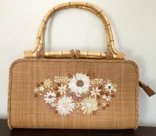 Straw Handbag - Summer Handbag - Capelli Purse
