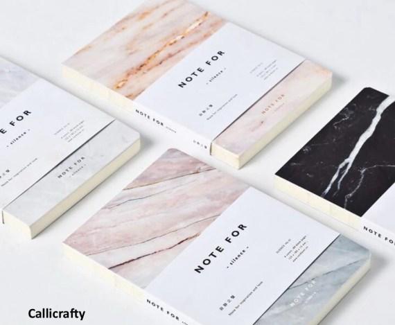 Minimalist Marble Notebook, Journal, Planner, Journal Insert, Planner Insert - PJ018