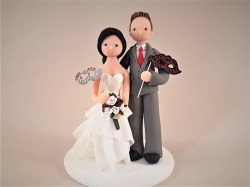 Small Of Custom Wedding Cake Toppers