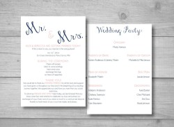 Small Of Diy Wedding Programs