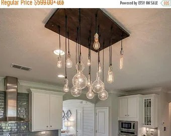summer promo 18 pendant industrial chandelier dining room light kitchen island lighting n