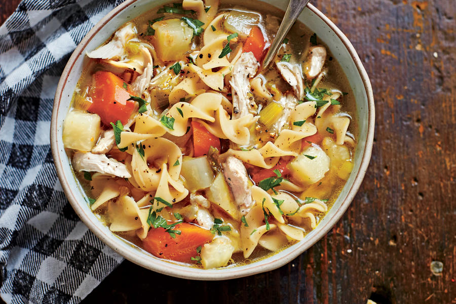 Soulful Chicken Soup - Easy Soup and Stew Recipes - Southern Living