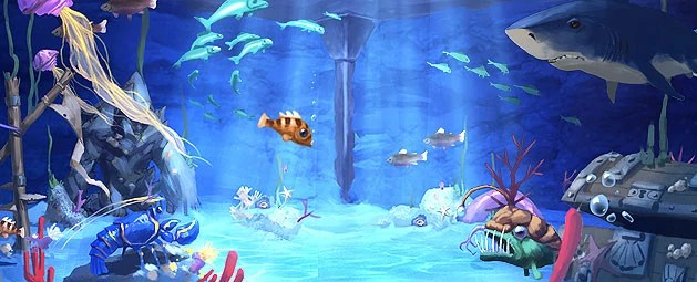 Dive into your very own aquarium in today's player polled Construction