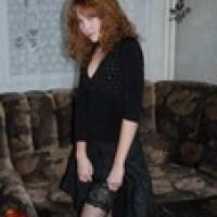 Gorgeous Ginger Posing On Lingerie & More! (220 Pics) {UF472}