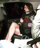 Britney Spears - Getting out of car pantyless upskirt pictures