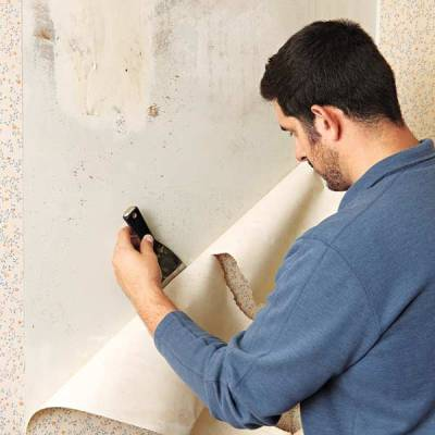 Removing Wallpaper From Plaster Walls | Your Toughest Paint Questions Answered | This Old House