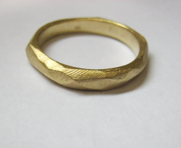 picks of the week art deco wedding band 14k gold wedding band Baladi designer jewelry