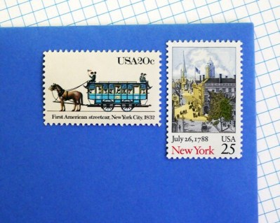New York City stamps