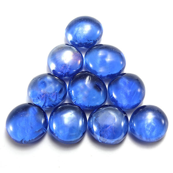 10 Glass Marbles Beads  Fish Tank Decor Landscaping 16mm   US$1
