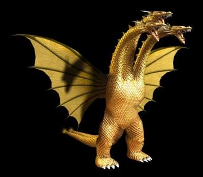 Image - GDAMM Artwork - King Ghidorah (2).png   Wikizilla, the Godzilla Resource and Wiki