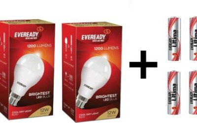 Eveready 12 W LED 6500K Cool Day Light Combo Bulb