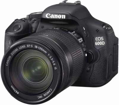 Canon EOS 600D (With EF-S 18-135 mm IS II Lens) 18 MP DSLR Camera