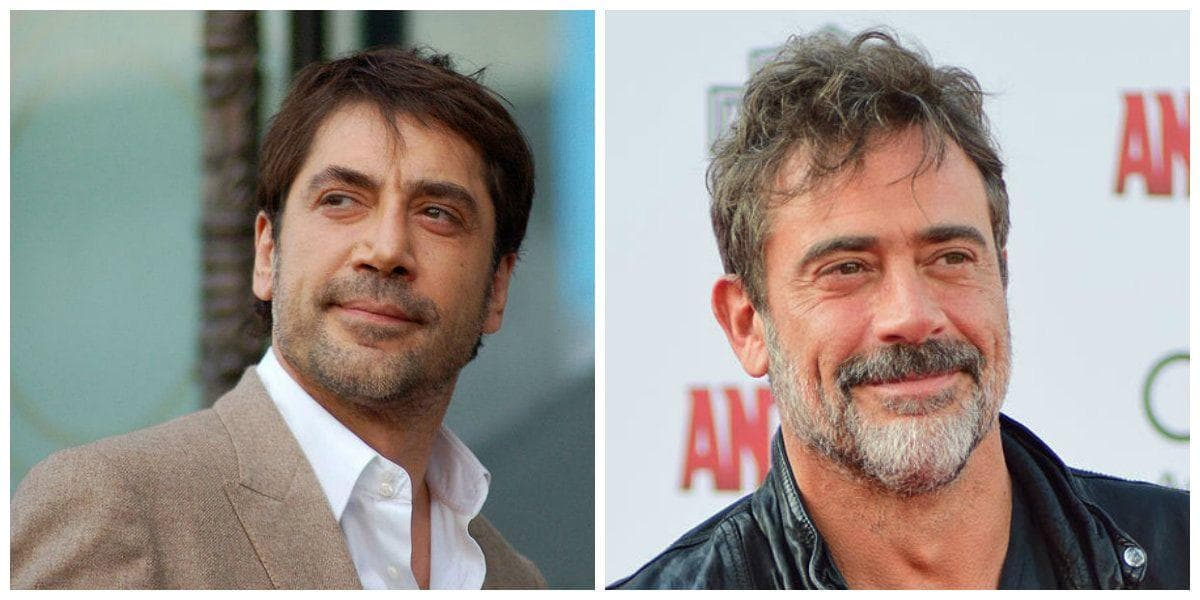Celebrities That Look Alike   Famous People Lookalikes Javier Bardem   Jeffrey Dean Morgan