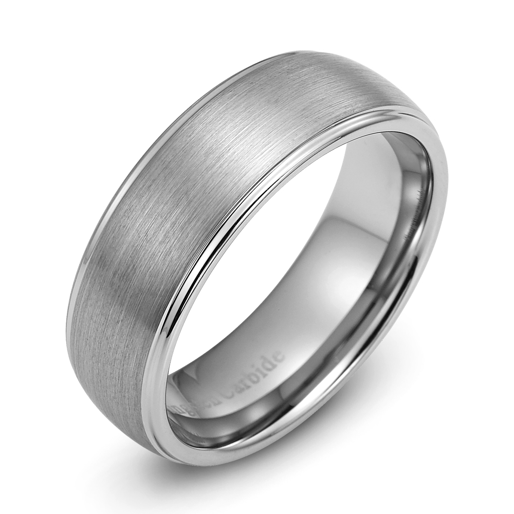 tungsten carbide wedding rings Image is loading Mens Wedding Ring New Tungsten Carbide Band for