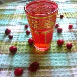 Russian cranberry mors