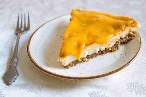 lemon mango cheesecake