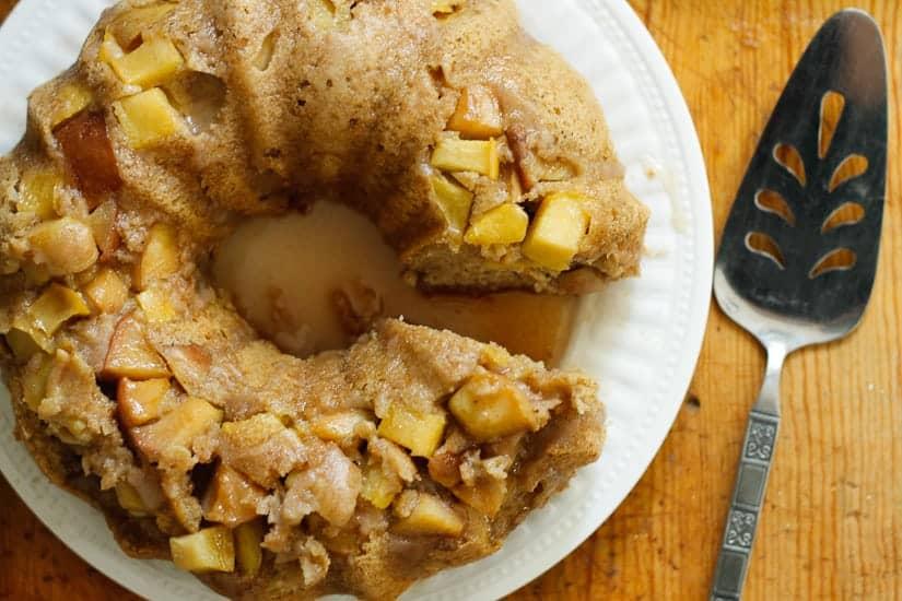 apple olive oil cake 12