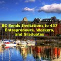 BC Sends Invitations to 437 Entrepreneurs, Workers, and Graduates