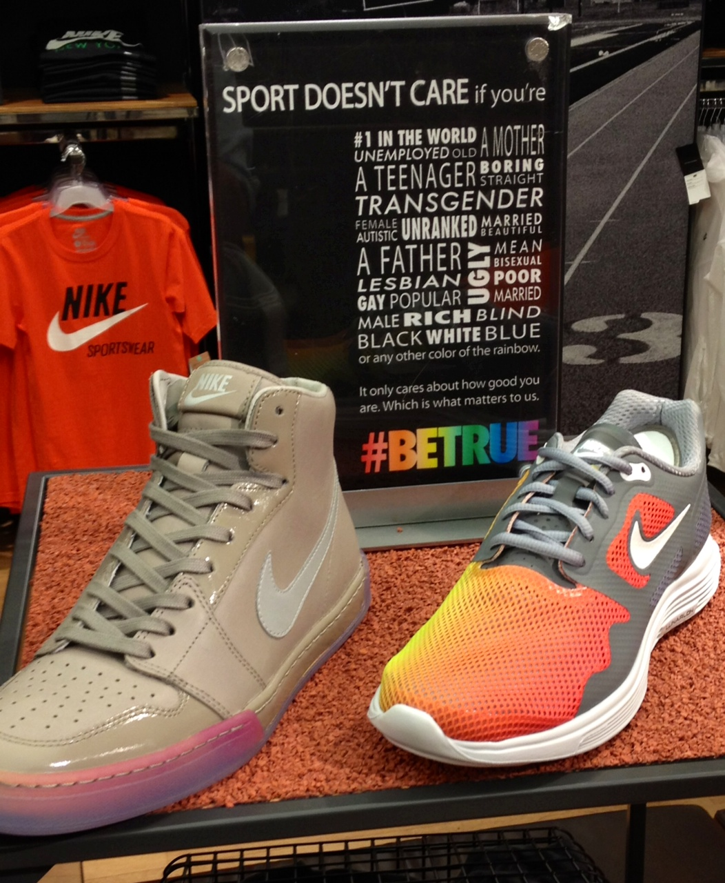 The 2014 Nike #BETRUE collection extends beyond that small set of sneakers and apparel that already made their way to retail. Also included in the group is