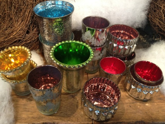Pottery Bard Mercury Glass Holiday 2012