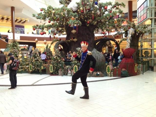 Nutcracker Costume South Centre Christmas Mascot