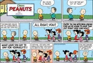 charlie brown comic strip
