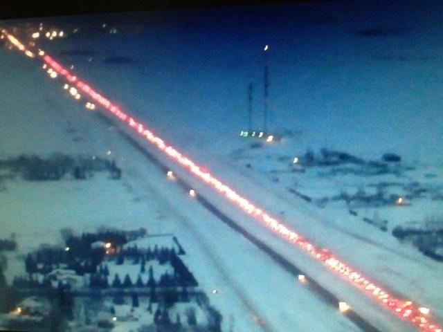 Highway 1 satelitte shot