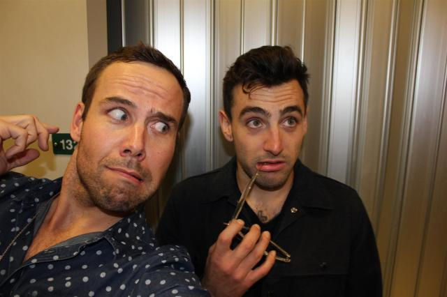 Jacob William Hoggard from HEDLEY and Mr. Fab