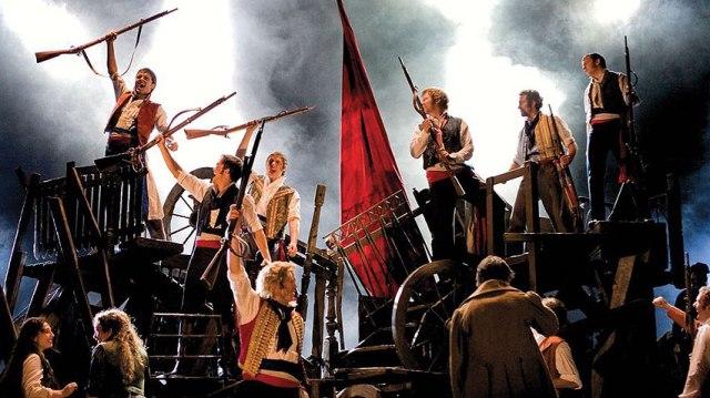 Les Mis Canadian TOuring Cast BAC Broadway