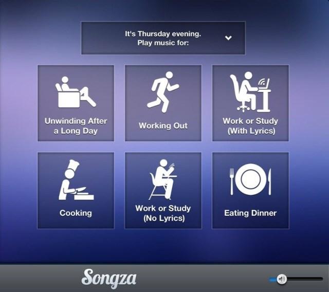 Songza App