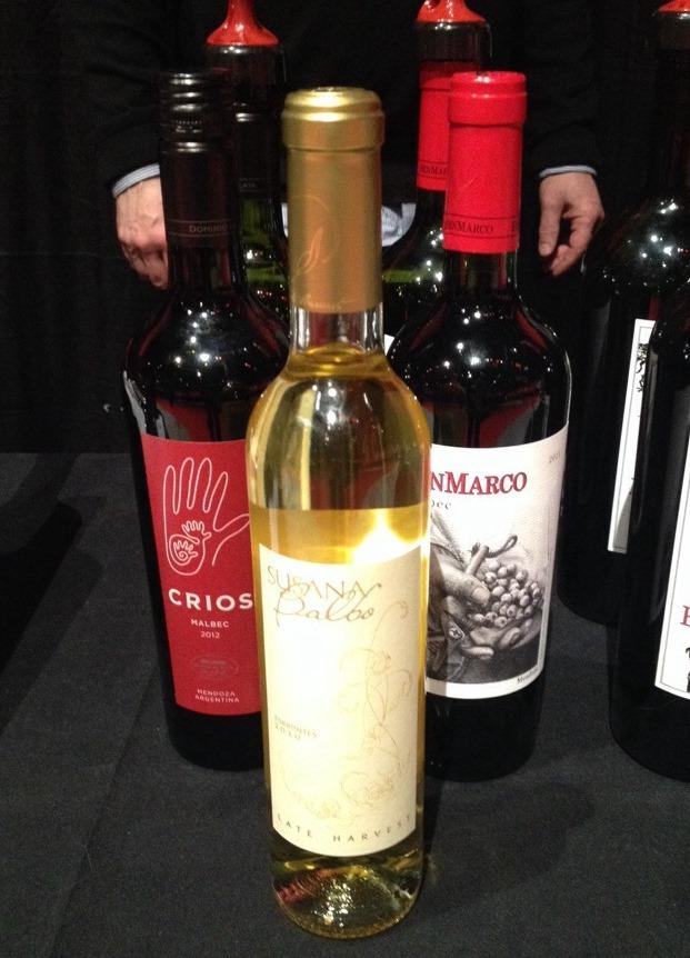 winefest Susana Balbo Late Harvest Torrontes, Argentina mrfab