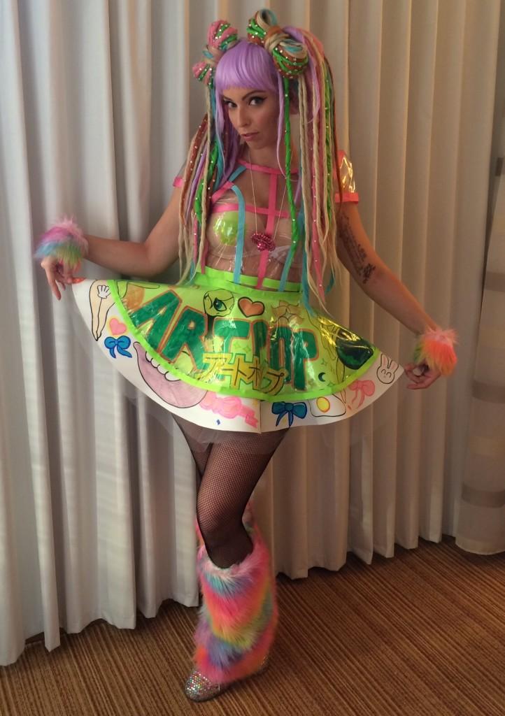 Lady Gaga artRAVE Edmonton Ashley